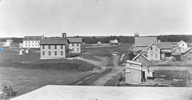 Broadway Street - Alexandria - 1870s