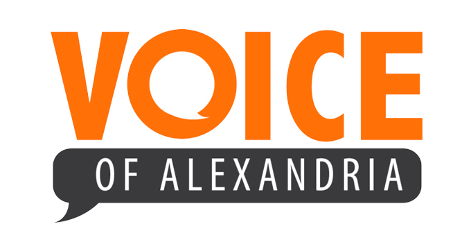 Voice of Alexandria logo
