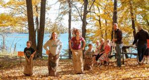 Fall Camping in Alexandria MN