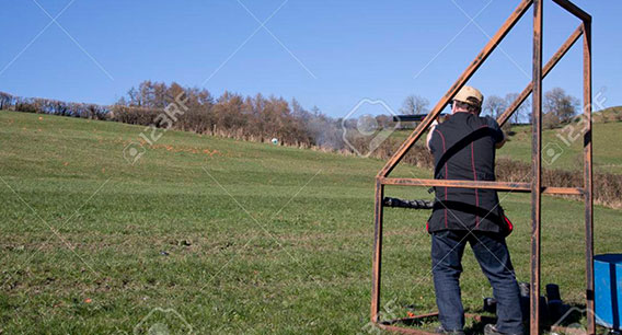 Trap Shooting - 123RF