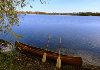 Lake Brophy Canoe