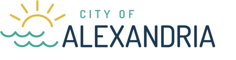 City of Alexandria official logo with City of on top