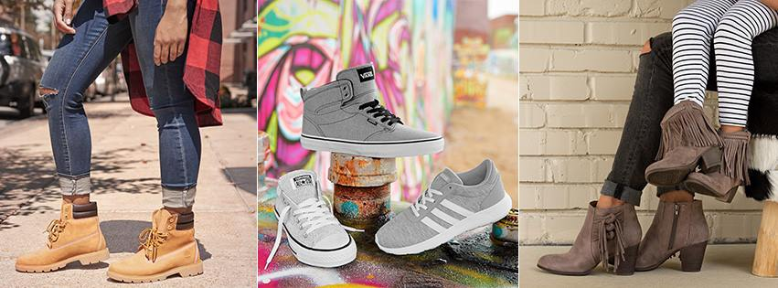 famous footwear photo