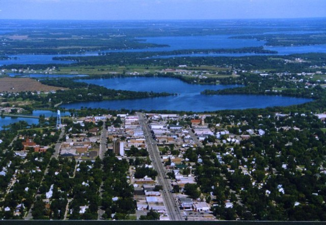 Aerial view of the Alexandria area!