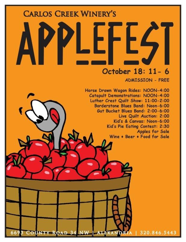 Applefest Poster