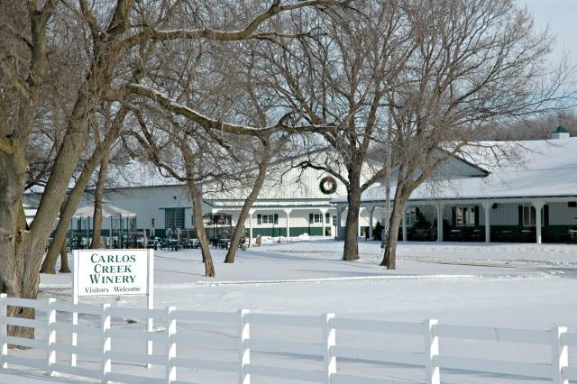 Carlos Creek Winery - Winter