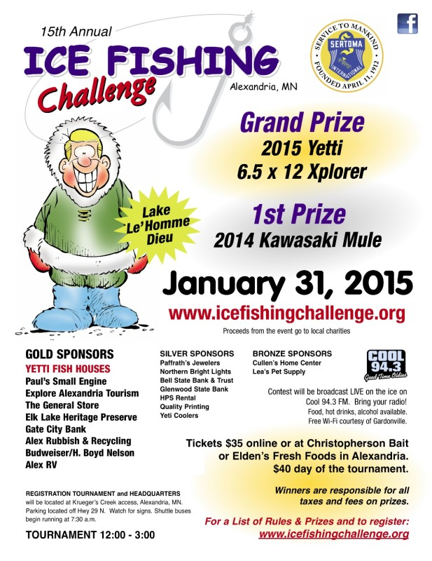 Ice Fishing Challenge 2015 Flyer