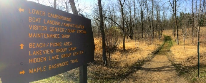 LC Trail sign