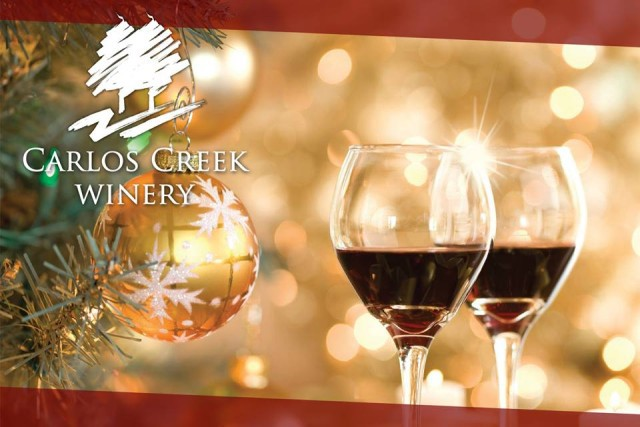 Carlos Creek Winery for the holidays