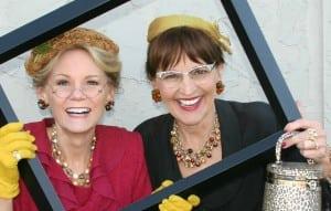 The hilarious comedy duo Tina and Lena.