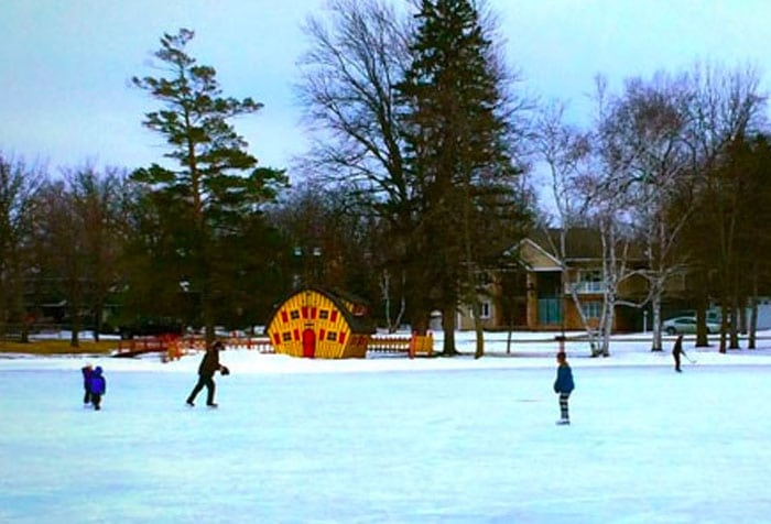 Ice Skating at Noonan's Park