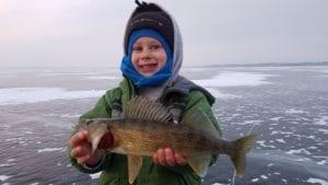 Walleye Catch