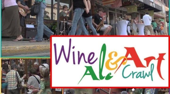 Wine & Art Crawl