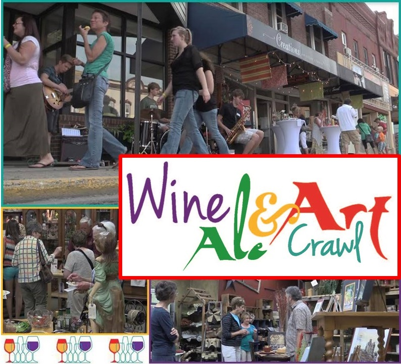 Wine, Ale & Art Crawl 2019