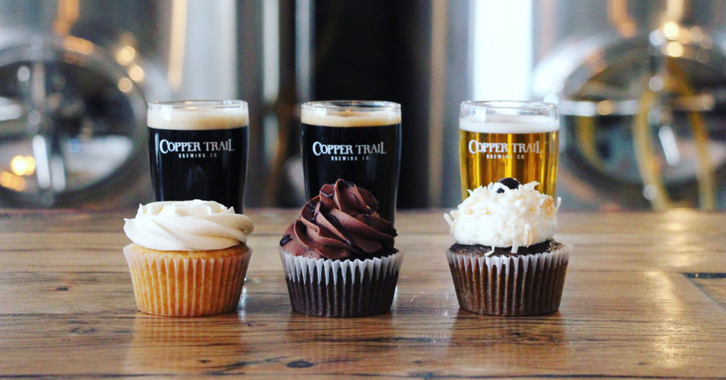 Cupcake and Beer Pairing at Copper Trail