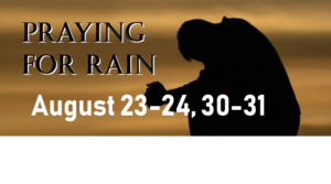praying for rain Facebook header