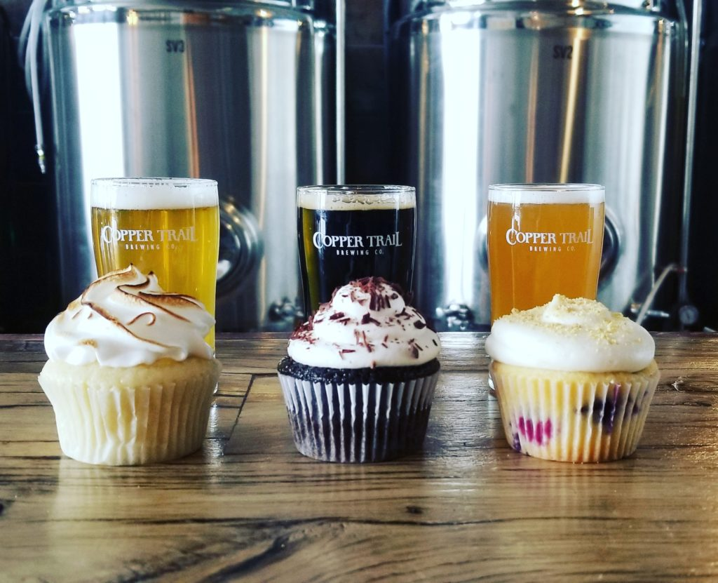 Cupcakes & Beer at Copper Trail