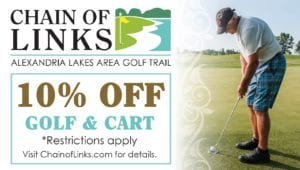 Chain of Links 10% off rentals