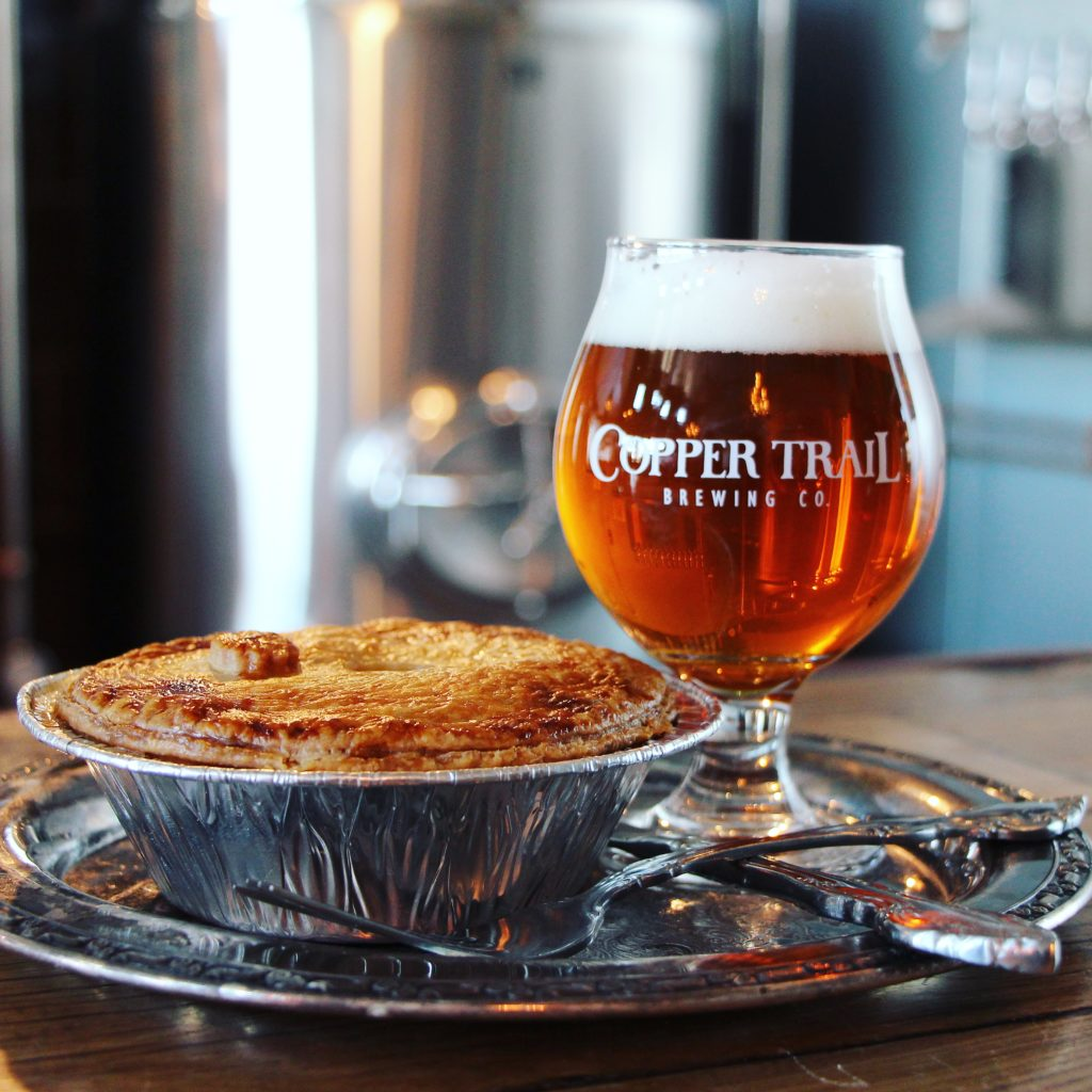 Pies with Pints at Copper Trail Brewing