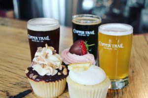 July Cupcakes & Copper Trail Beer