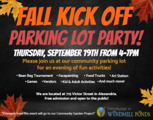 Fall Kick Off Parking Lot Party