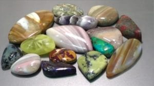 tumbled and washed rocks