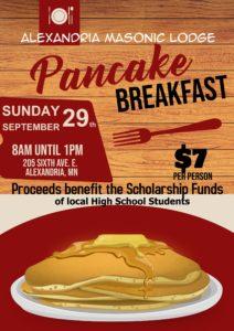 Pancake Breakfast - 2019 Fall