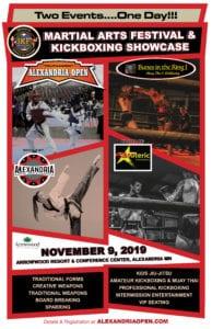 Martial Arts Festival Tournament Poster 1