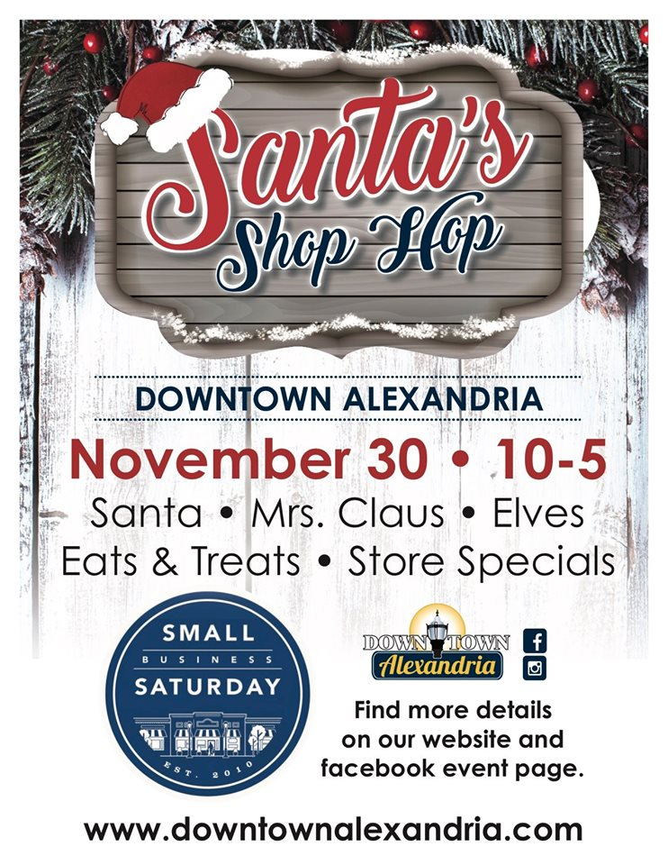 Downtown Santa's Shop Hop
