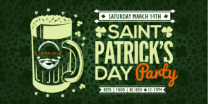 St. Patricks Party_Copper Trail Brewing
