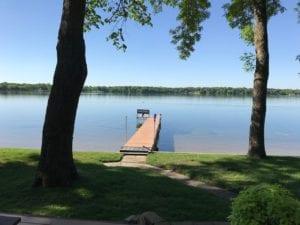 bayside lake house dock